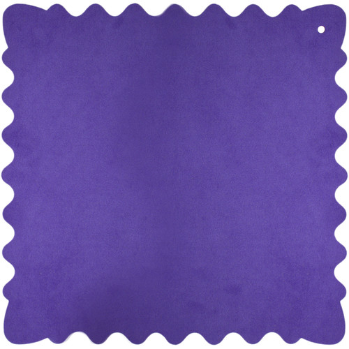 "Bluestar Ultrasuede Cleaning Cloth (Purple, Large, 12 x 12"")"