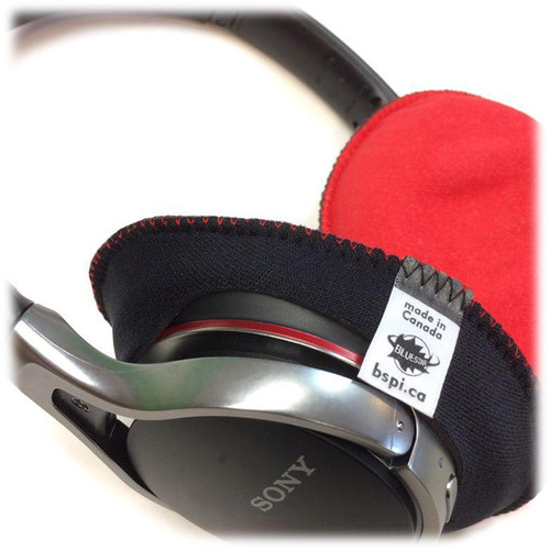 Bluestar CanSkins Earcup Covers for Sony MDR-10RBT Headphones (Pair, Red)