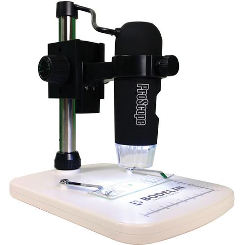 Bodelin Technologies PS-EDU-100 ProScope EDU USB Digital Handheld Microscope (Black)