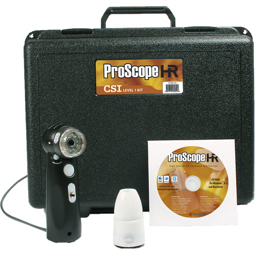 Bodelin Technologies ProScope HR5 Microscope CSI Science Level 1 Kit