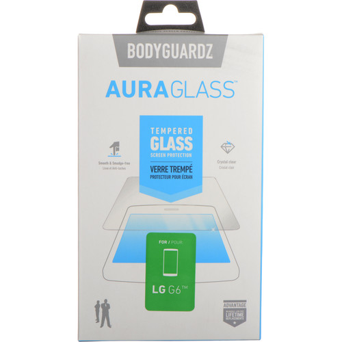 BodyGuardz AuraGlass ScreenGuardz for LG G6