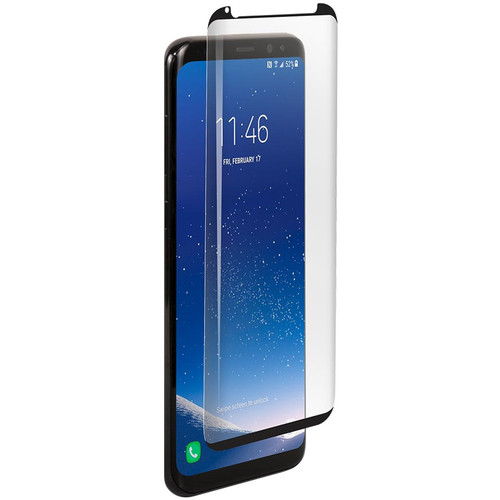BodyGuardz Pure Arc Glass Screen Protector for Galaxy S8+