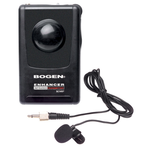 Bogen Communications BCWBT Body-Pack Transmitter with Lavalier