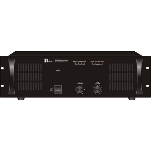 bogen communications two channel mono audio amplifier bpa2240. Black Bedroom Furniture Sets. Home Design Ideas