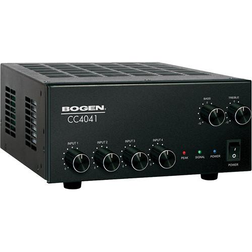 Bogen Communications CC4041 - Mixer-Amplifier for Installs