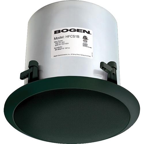Bogen Communications HFCS1B High Fidelity Ceiling Speaker (Black)