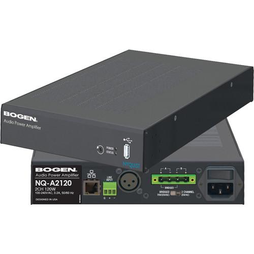 Bogen Communications Nyquist 2-Channel 120W 1U Audio Power Amp