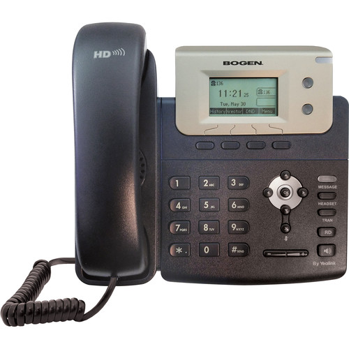 Bogen Communications Staff IP Phone - Basic LCD Display