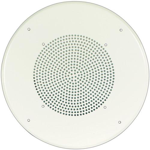 Bogen Communications PG8U Round Steel Grille (Bright White Enamel)
