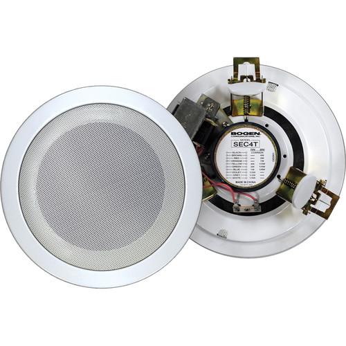 "Bogen Communications SEC4T 4"" Compact 4W Ceiling Speaker"
