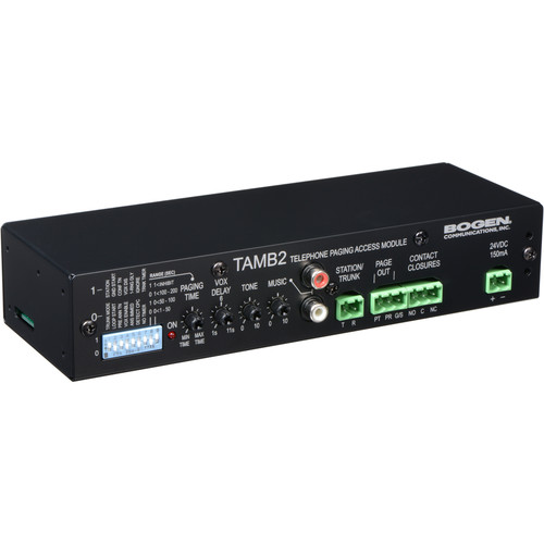 Bogen Communications TAMB2 Telephone Access Module with Power Supply