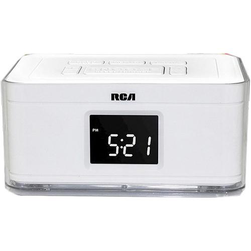 Bolide Technology Group Dual Alarm Clock Hidden Camera (White)