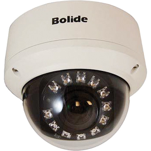 Bolide Technology Group Raphael Series BC1109AVAIR-12/24 1100 TVL IP66 Dome Camera with 2.8 to 12mm Varifocal Lens (NTSC)