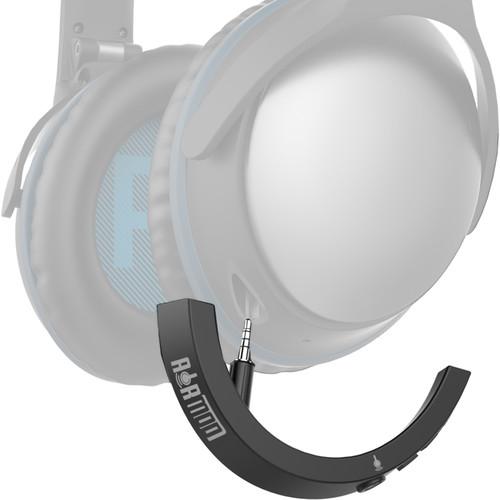Bolle & Raven AirMod QC25 Wireless Bluetooth Adapter for Bose QuietComfort 25 Headphones (Black)