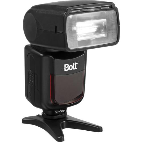 Bolt VX-760C Wireless TTL Flash for Canon Kit with Compact Power Pack & Cable