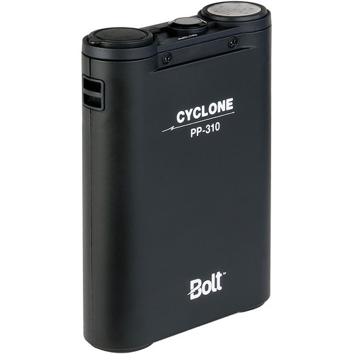Bolt Cyclone PP-310 Compact Power Pack and BO-CZ Canon Flash Cable Kit