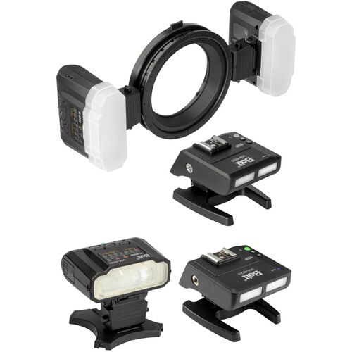 Bolt Macro Ring Flash with Additional Transceiver and Flash Kit