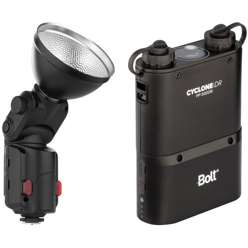Bolt VB-11 Bare Bulb Flash Kit with Cyclone PP-400DR Power Pack