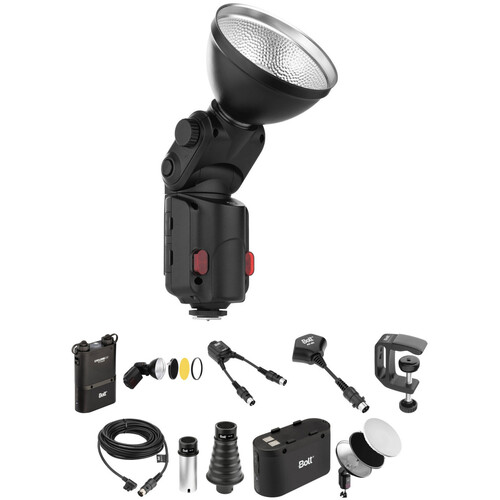 Bolt VB-11 Bare-Bulb Flash and Accessory Kit