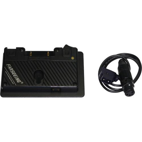 Bon AB-MOUNT-07 Gold Mount Adapter for Select BEM/FM/RM/BW Monitors