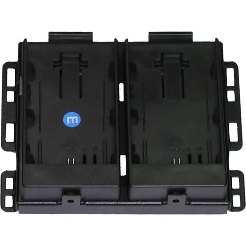 Bon Canon Battery Mount for Select BEM/FM/BW Monitors (Dual)