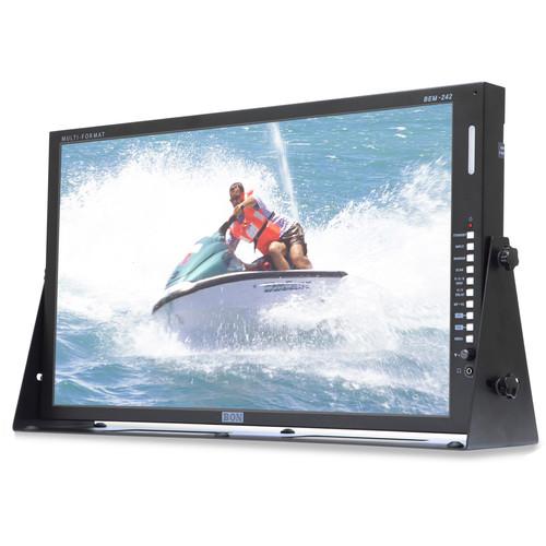 "Bon BEM-242 24"" 3G-SDI/HDMI Broadcast and Production Monitor"