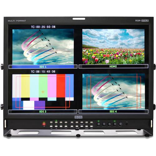 """Bon BQM-170LS 17"""" Quad-Split Broadcast Monitor"""