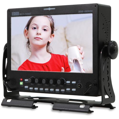 "Bon BSM-093N3G 9"" Full HD LED-Backlit Rack-Mountable LCD Monitor"