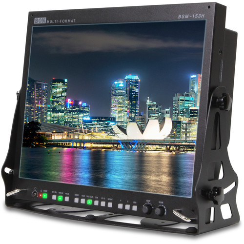 "Bon BSM-153H 15"" High Brightness 3G/HD/SD-SDI & HDMI Field Monitor"