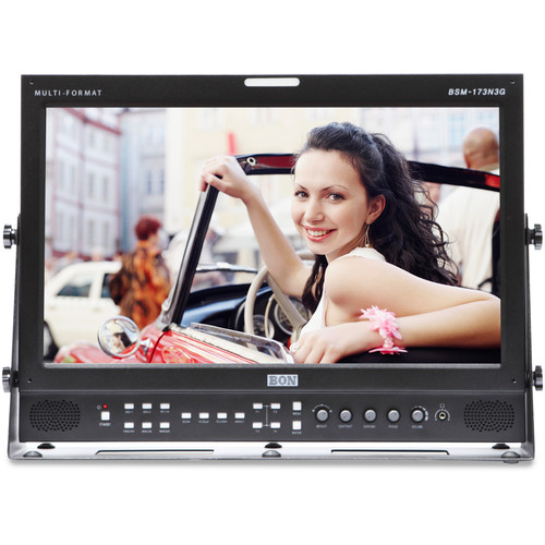 "Bon BSM-173N3G 17"" 3G-SDI/HDMI Broadcast and Production Monitor"