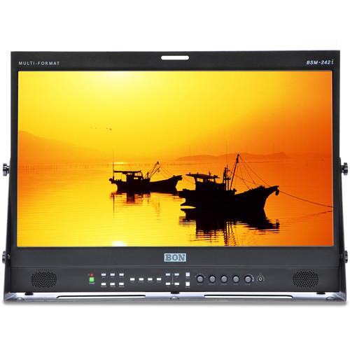 "Bon BSM-242I 24"" 3G-SDI/HDMI Studio Broadcast and Production Monitor"