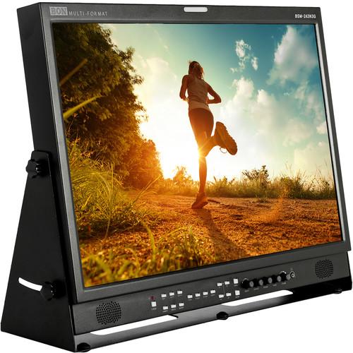 """Bon 24"""" 3G/HD/SD-SDI & HDMI LCD Studio Broadcast Monitor"""