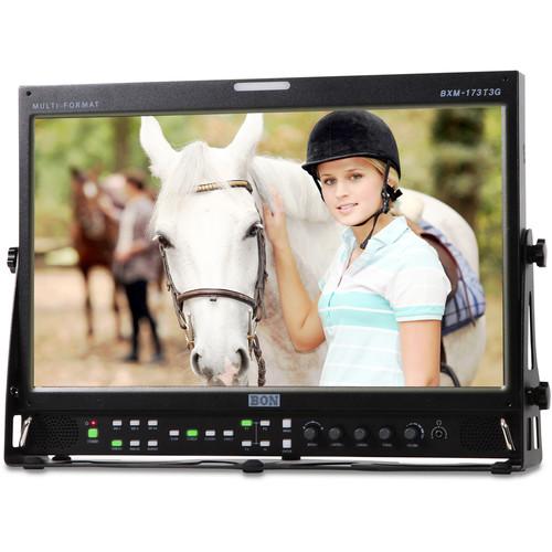 Bon BXM-173T3G Full HD 3G-SDI/HDMI 12-Bit Broadcast Monitor