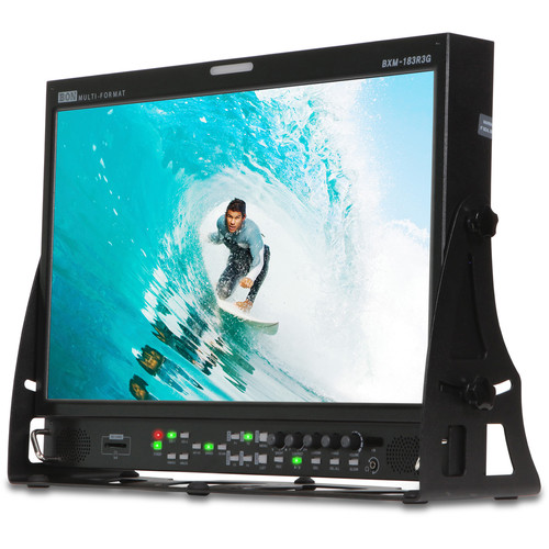 "Bon 18.5"" 12-Bit Monitor with 3G SDI Input and HD Recording"