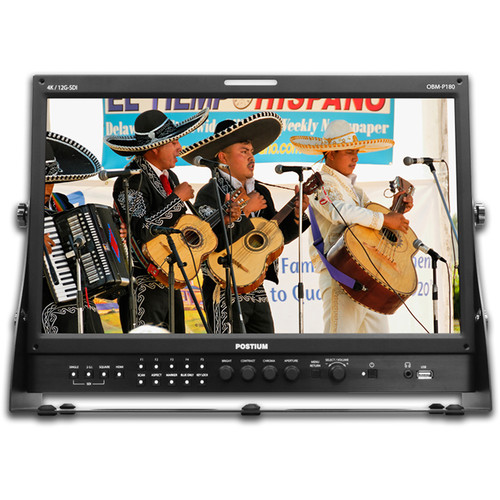 """Postium Korea 18.5"""" Studio Monitor with Picture by Picture  Dual Scopes"""