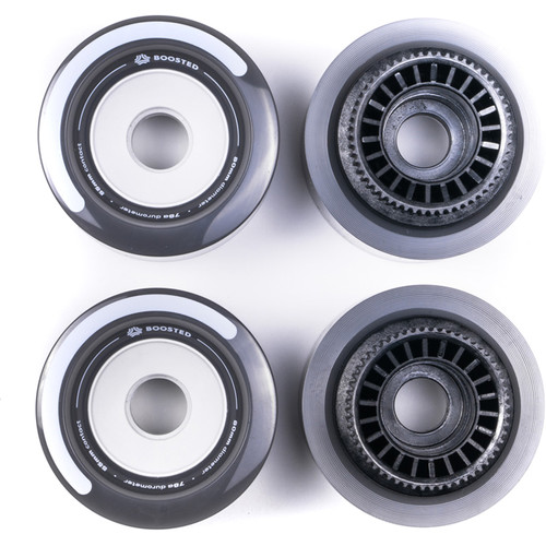 BOOSTED BOARDS Full Set Wheels for Mini S & Mini X (Gray)