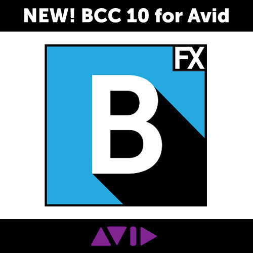 Boris FX Continuum Complete 10 Legacy Renewal for Avid (Download)