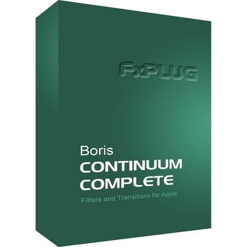 Boris FX Boris Continuum Complete 8 FxPlug Upgrade for Mac