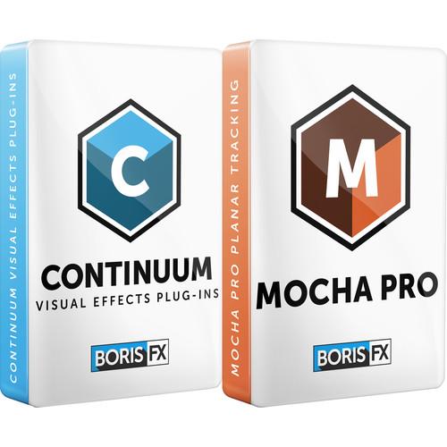 Boris FX Continuum 2019 + Mocha Pro 2019 Plug-In for Adobe Bundle (Annual Subscription, Download)