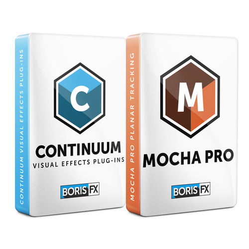 Boris FX Continuum 11 + Mocha Pro 5 Bundle for Avid (Annual Subscription, Download)