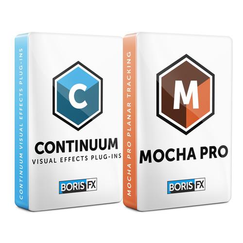 Boris FX Continuum 11 + Mocha Pro 5 Bundle for OFX (Annual Subscription, Download)