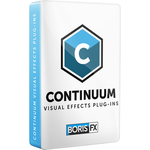 Boris FX Continuum 2019 Multi-Host License for Adobe/OFX/Apple (with 1 Year Upgrades/Support, Download)