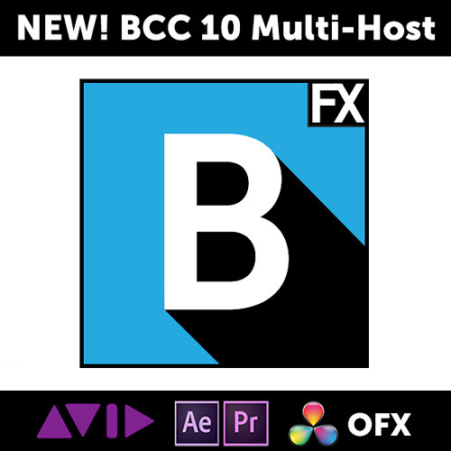 Boris FX Continuum Complete 10 Multi-Host for Adobe, Apple, and OFX (Academic Site License - 50 Seats, 1-Year Subscription, Download)