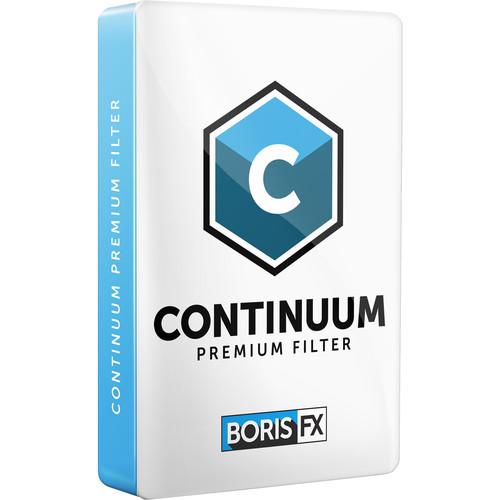 Boris FX Continuum Optical Stabilizer Premium Filter (Download)