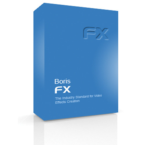 Boris FX DVD: Boris FX 10 for Mac (Upgrade)