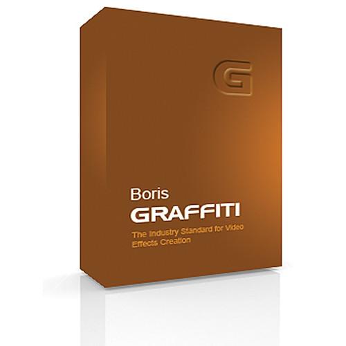 Boris FX DVD: Boris Graffiti 6 for Mac (Academic Pricing)