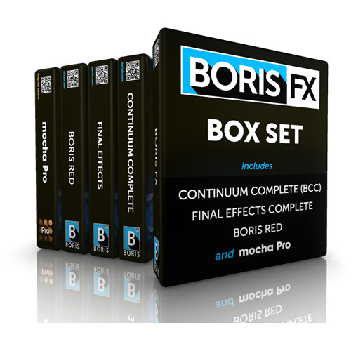Boris FX Box Set AVX Upgrade (Download)