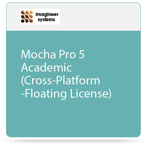Imagineer Systems Mocha Pro 5 Academic (Cross-Platform - Floating License)
