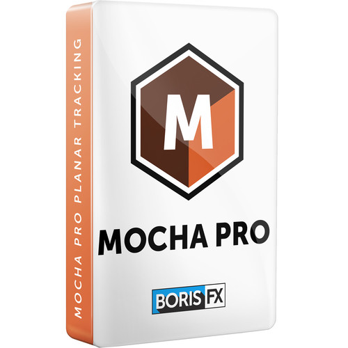 Boris FX Mocha Pro 2019 Standalone App and Plug-Ins for Avid/Adobe/OFX (Academic Annual Subscription for Schools/Faculty, Download)