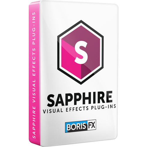Boris FX Sapphire 2019 for Avid/Adobe/Autodesk/OFX (Floating Subscription License, Download)